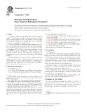 Standard Test Method forPour Point of Petroleum Products1