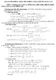 Chuyên đề phương trình, bất phương trình chứa ẩn trong căn