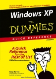 Windows XP For Dummies Quick Reference, 2nd Edition