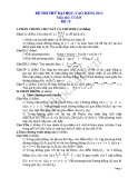 Đề thi thử đại học 2013 Môn Toán khối B Đề 10