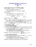 Đề thi thử đại học 2013 Môn Toán khối B Đề 4