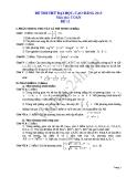 Đề thi thử đại học 2013 Môn Toán khối B Đề 11