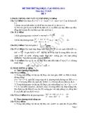 Đề thi thử đại học 2013 Môn Toán khối B Đề 9