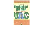 Kinh nghiệm làm kinh tế gia đình phát triển VAC