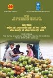 Thúc đẩy tăng năng suát nông nghiệp và thu thập nông thôn tại Việt Nam : bài học từ kinh nghiệm của khu vực