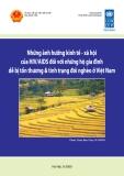 Những ảnh hưởng kinh tế xã hội của HIV/AIDS đối với những hộ gia đình dể bị thương và tình trạng đói nghèo ở Việt Nam