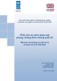 Phân tích so sánh pháp luật phòng, chống tham nhũng quốc tế: Bài học về những cơ chế xử lý và thực thi cho Việt Nam