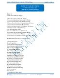 Danh từ và sở hữu cách (đáp án bài tập tự luyện)