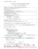 Chuyên đề luyện thi đại học - cao đẳng - Các dạng toán liên quan đến khảo sát hàm số