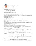 Đề kiểm tra 1 tiết Toán lớp 10 phần 4 (Kèm đáp án)