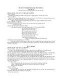 Đề Thi Thử Văn Học 2013 - Phần 5 - Đề 7