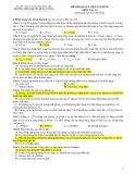 Đề Thi Thử Đại Học Vật Lý 2013 - Đề 10