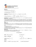 Đề kiểm tra 1 tiết môn Toán 10 phần 4 (Kèm đáp án)