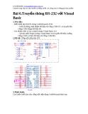 Truyền thông RS-232 với Visual Basic