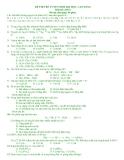 Đề Thi Thử Đại Học Khối A, B Hóa 2013 - Phần 12 - Đề 12