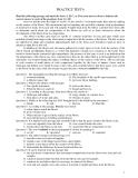 Đề Thi Thử Đại Học Khối A1, D Anh Văn 2013 - Phần 5 - Đề 3