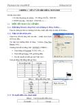 Ứng dụng tin học trong thiết kế _ Sử dụng Auto Cad