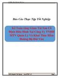 Báo cáo thực tập Kế Toán tăng Giảm Tài Sản Cố Định Hữu Hình Tại Công Ty TNHH MTV Quản Lý Và Khai Thác Hầm Đường Bộ Hải Vân