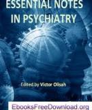 Essential Notes in Psychiatry Edited by Victor Olisah