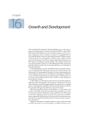Plant physiology - Chapter  16  Growth and Development