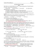 Đề Thi Tốt Nghiệp Hóa 2013 - Phần 1 - Đề 9