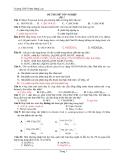 Đề Thi Tốt Nghiệp Hóa 2013 - Phần 1 - Đề 7
