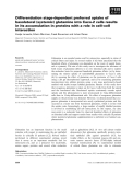 Báo cáo khoa học: Differentiation stage-dependent preferred uptake of basolateral (systemic) glutamine into Caco-2 cells results in its accumulation in proteins with a role in cell–cell interaction