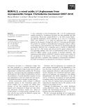 Báo cáo khoa học: BGN16.3, a novel acidic b-1,6-glucanase from mycoparasitic fungus Trichoderma harzianum CECT 2413