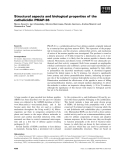Báo cáo khoa học: Structural aspects and biological properties of the cathelicidin PMAP-36
