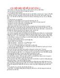 Câu hỏi bảo vệ đồ án bê tông 1