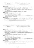 ĐỀ KIỂM TRA HÌNH HỌC 10 – CHƯƠNG III THPT PHAN CHU TRINH