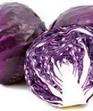 4 loại rau củ màu tím chống lão hóa