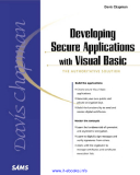 Developing Secure Applications with Visual Basic