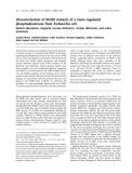 Báo cáo khoa học: Characterization of Met95 mutants of a heme-regulated phosphodiesterase from Escherichia coli