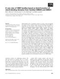 Báo cáo khoa học: A new clan of CBM families based on bioinformatics of starch-binding domains from families CBM20 and CBM21