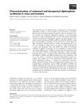 Báo cáo khoa học: Characterization of solanesyl and decaprenyl diphosphate synthases in mice and humans