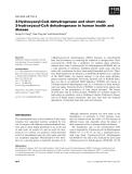 Báo cáo khoa học: 3-Hydroxyacyl-CoA dehydrogenase and short chain 3-hydroxyacyl-CoA dehydrogenase in human health and disease