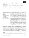 Báo cáo khoa học: Thiol reducing compounds prevent human amylin-evoked cytotoxicity