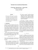 "Báo cáo khoa học: ""Terminal-Aware Synchronous Binarization"""