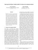 "Báo cáo khoa học: ""Semi-supervised latent variable models for sentence-level sentiment analysis"""