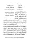 "Báo cáo khoa học: ""Prefix Probability for Probabilistic Synchronous Context-Free Grammars"""