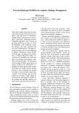 """Báo cáo khoa học: """"Towards Relational POMDPs for Adaptive Dialogue Management"""""""