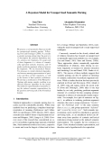 "Báo cáo khoa học: ""A Bayesian Model for Unsupervised Semantic Parsing"""