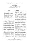 "Báo cáo khoa học: ""Sentiment Translation through Lexicon Induction"""
