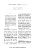 "Báo cáo khoa học: ""Adapting Self-training for Semantic Role Labeling"""