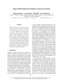 "Báo cáo khoa học: ""Beam-Width Prediction for Efficient Context-Free Parsing"""
