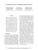 "Báo cáo khoa học: ""From Bilingual Dictionaries to Interlingual Document Representations""Raghavendra Udupa Micros"