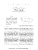 """Báo cáo khoa học: """"Unsupervised Learning of Semantic Relation Composition"""""""