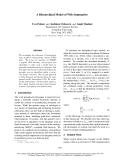 "Báo cáo khoa học: ""A Hierarchical Model of Web Summaries"""