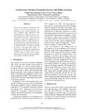 """Báo cáo khoa học: """"An Interactive Machine Translation System with Online Learning"""""""